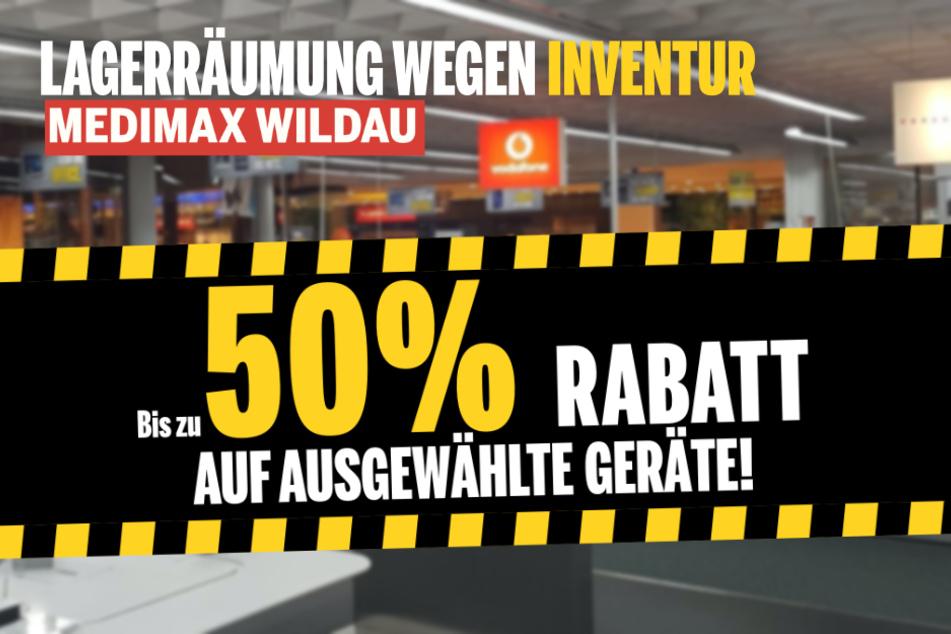 Ab sofort bekommt Ihr bei MEDIMAX in Wildau Technik bis zu 50 % günstiger!