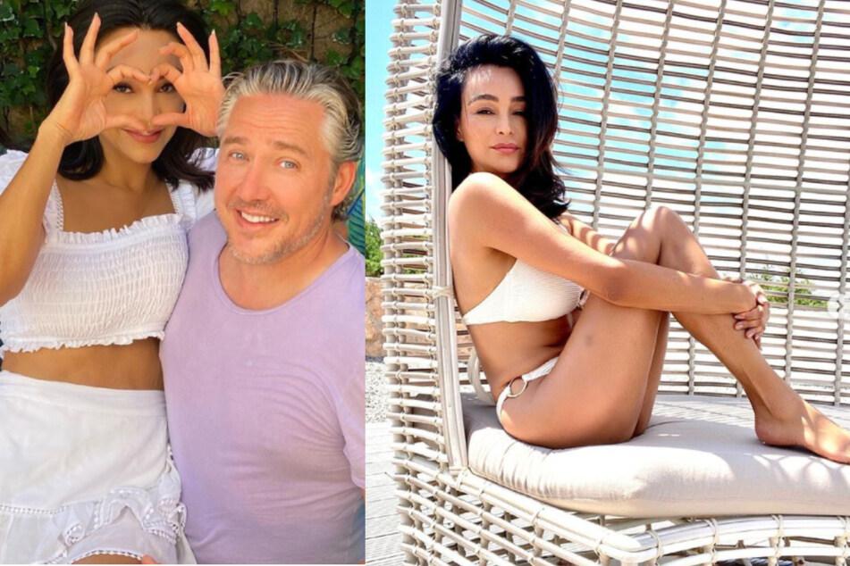 Verona Pooth (53) und ihr Mann Franjo (51) beim Urlaub auf Ibiza.