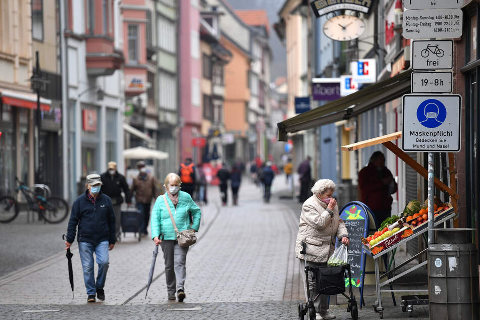 Ab Montag darf der Einzelhandel in Schleswig-Holstein wieder öffnen. (Symbolbild)