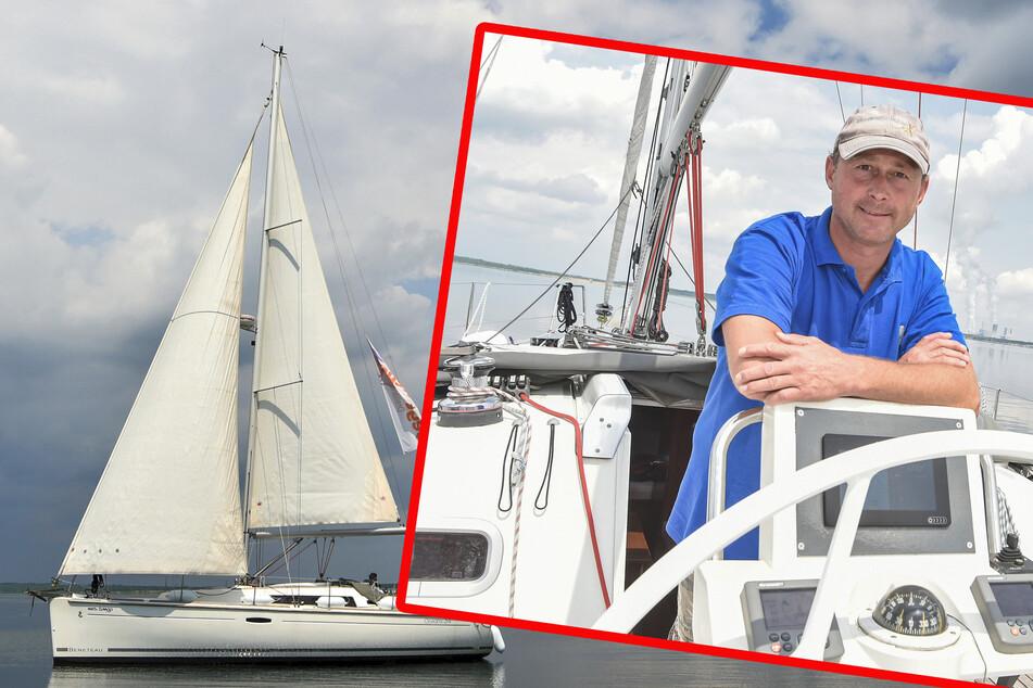 """""""Mrs. Tango"""": Sächsischer Segellehrer bietet Hochseeyacht-Training auf Bärwalder See an"""