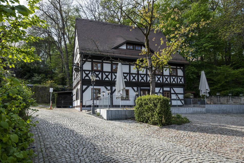 Das Leineweberhaus in Chemnitz ist heute eine Gaststätte und Pension.