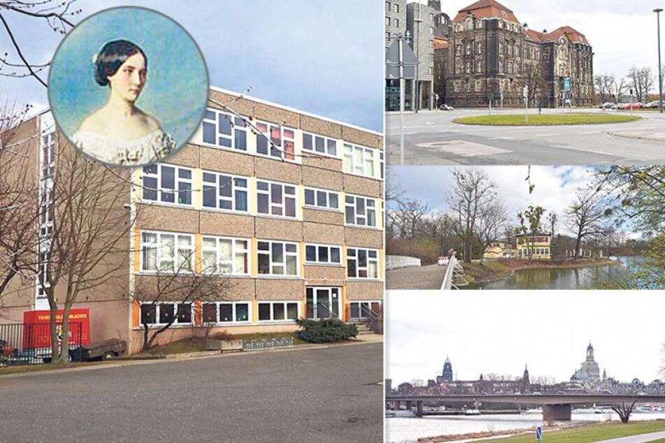 Wieso ehrt Dresden Carola von Wasa so oft?