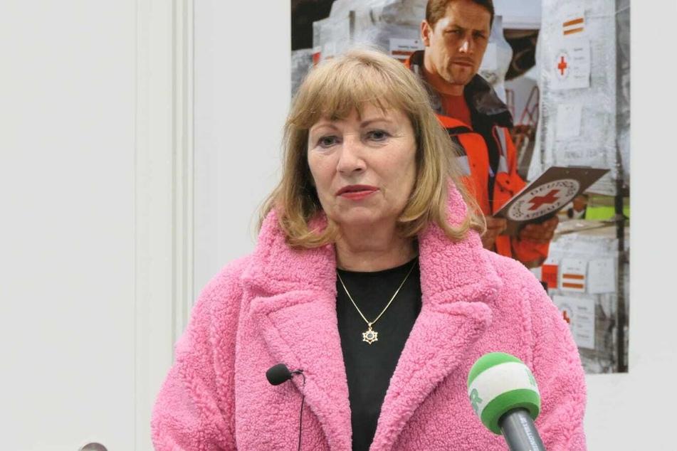 Gesundheitsministerin Petra Köpping (62, SPD) eröffnete das neue Impfzentrum in Grimma.