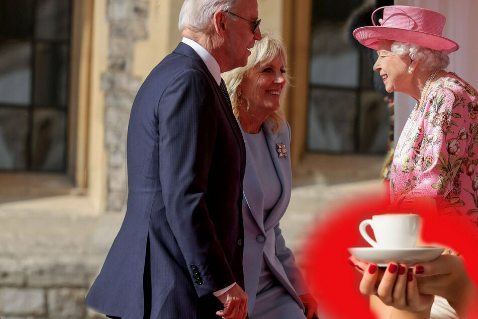 Biden says the Queen reminds him of his mother after tea time at Windsor Castle
