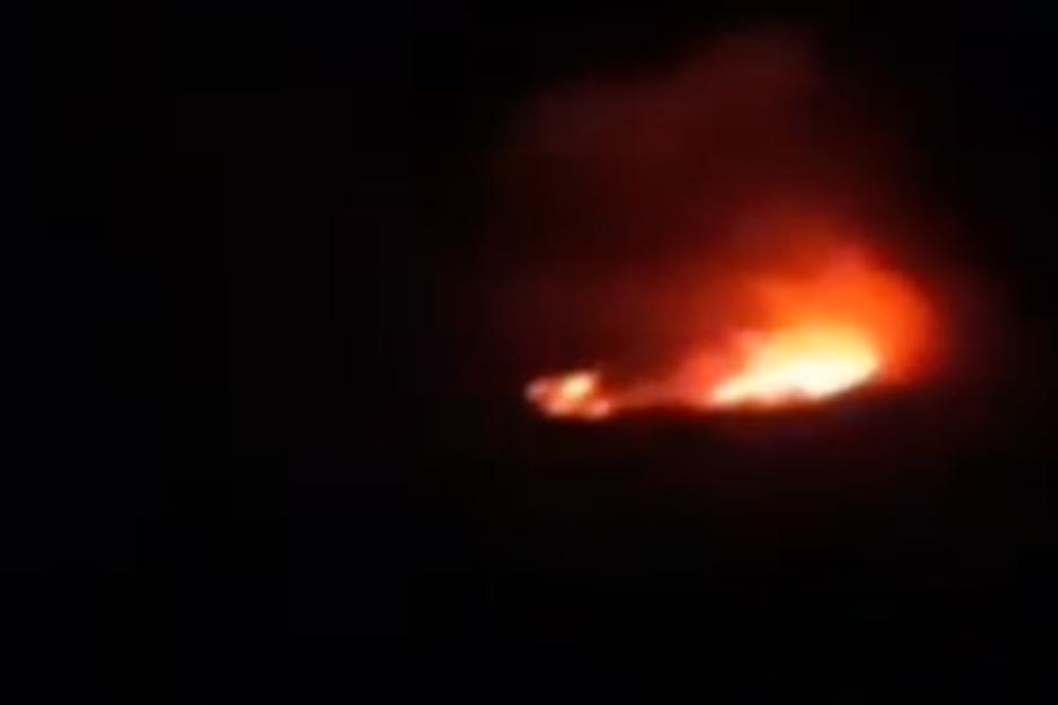 Feuer auf dem Kilimandscharo: Der höchste Berg Afrikas brennt