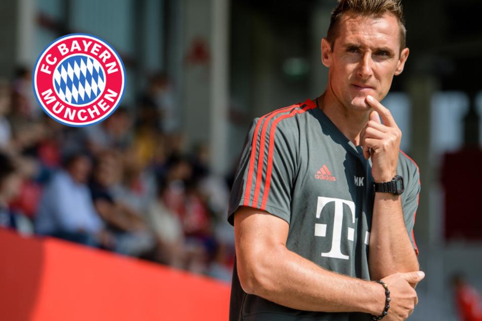 Wird Klose Co-Trainer von Flick beim FC Bayern?