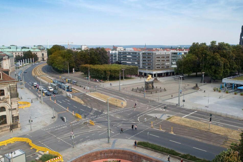 Der Neustädter Markt: eine aus der Not geborene Lösung - oder reif für den Denkmalschutz?