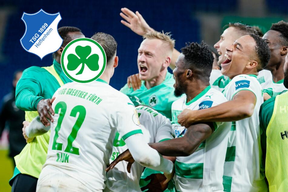 Elfer-Drama! Fürth gelingt Pokal-Sensation in Hoffenheim