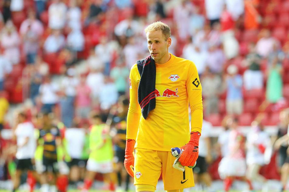 Ungarns Nationaltorhüter Peter Gulacsi (31) musste beim 0:1 gegen Albanien zur Halbzeit runter.