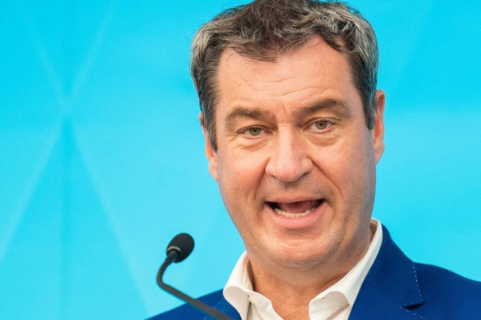 Wirft der SPD taktisches Verzögern vor: CSU-Boss Dr. Markus Söder. (Archiv)