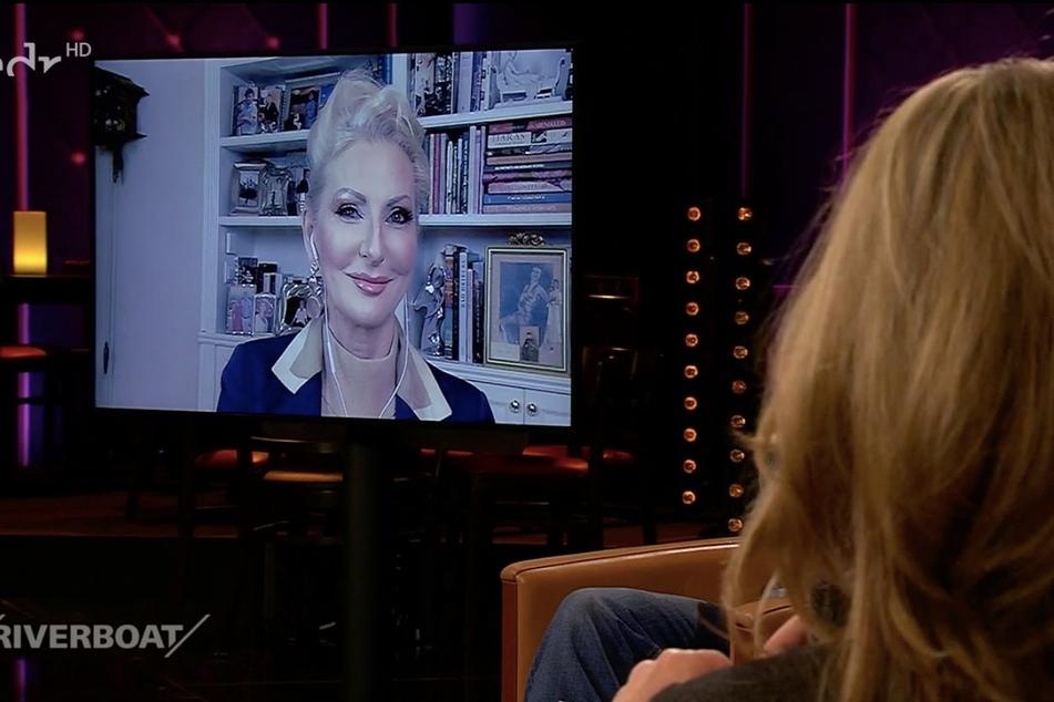 Die Entertainerin war live in die Sendung zugeschaltet.