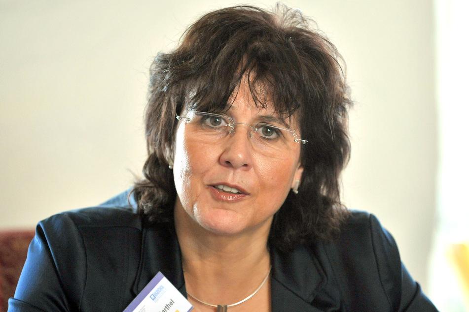 Die Vorsitzende des Bundesverbandes der Ärztinnen und Ärzte des Öffentlichen Gesundheitsdienstes e.V., Ute Teichert (Archivbild).