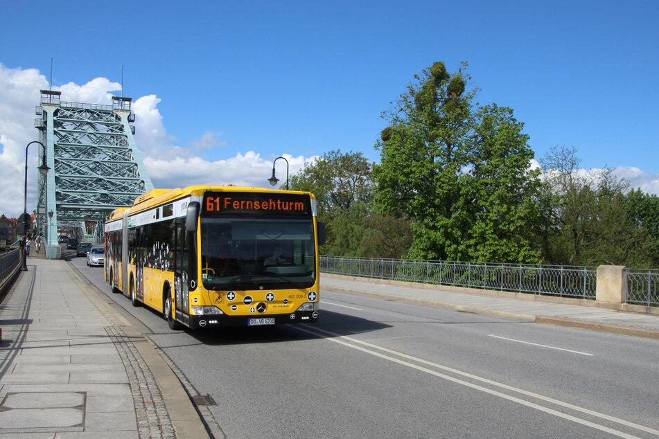 Aktuell kann in den Dresdner Bussen nicht beim Fahrer bezahlt werden. Das soll auch so bleiben.