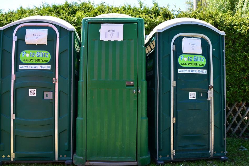 Nicht immer ist die nächste öffentliche Toilette in Leipzig ersichtlich.