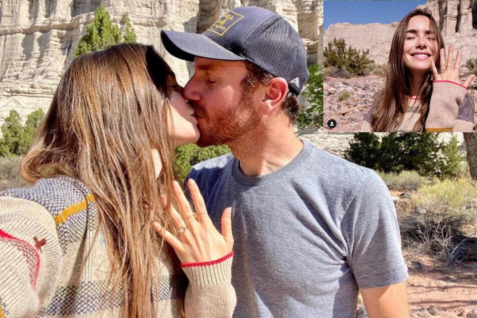 Filmstar Lily Collins hat sich verlobt!