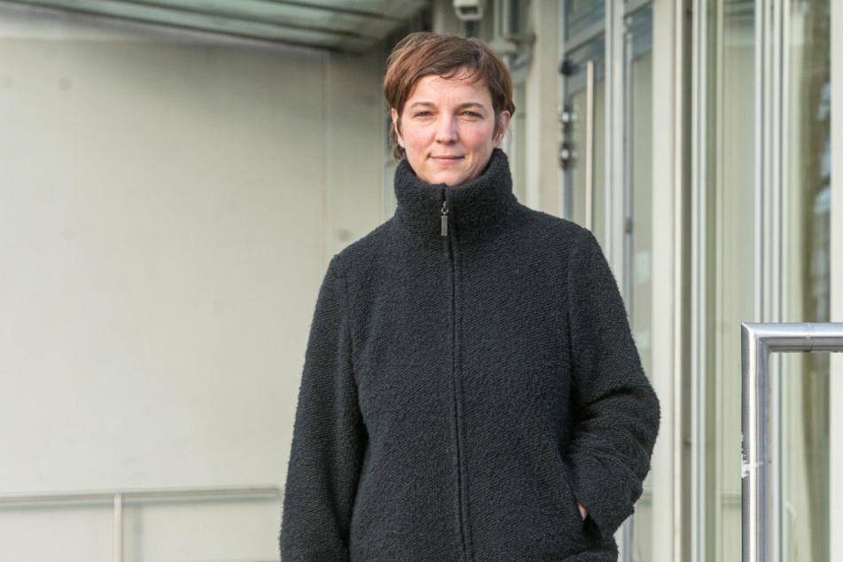 Laura Kölsch (41), Mutter einer Achtjährigen, klagt auf Öffnung der Grundschulen.