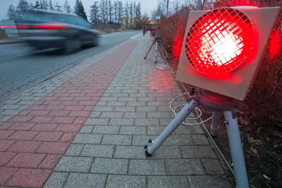 Fuß vom Gas! Hier stehen in der kommenden Woche die Blitzer in und um Chemnitz