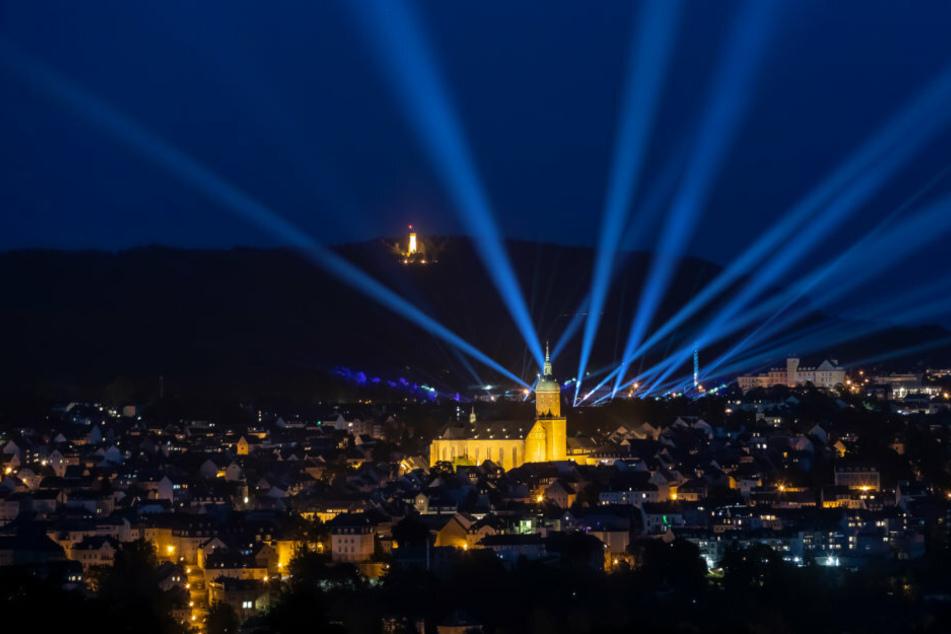 Das Erzgebirge leuchtet: Lichter-Show statt Jubiläums-Kät