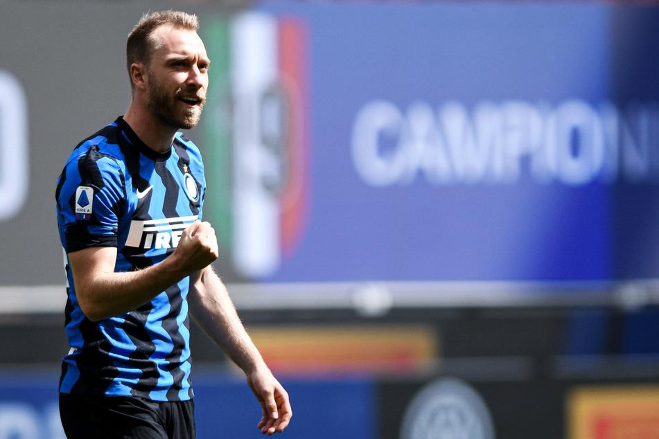 Christian Eriksen wechselte Ende Januar 2020 zu Inter Mailand, wo er nach Anlaufschwierigkeiten zuletzt besser in Form kam und erst vor wenigen Wochen Meister wurde.