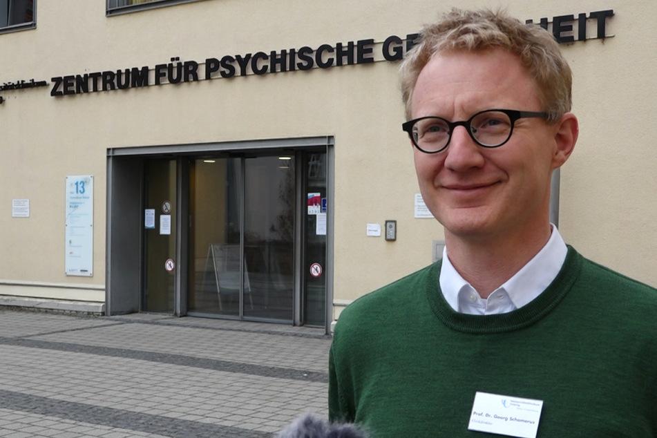 Prof. Dr. Georg Schomerus, Direktor der Klinik für Psychiatrie am Leipziger Uniklinikum.