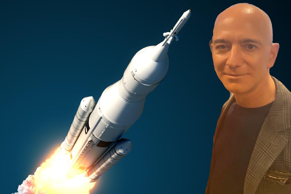 Whopping multi-million dollar auction bid wins seat on space flight with Jeff Bezos