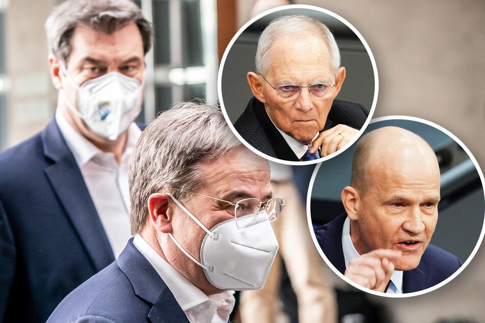 Schäuble und Brinkhaus wollen K-Frage noch in der Nacht klären!