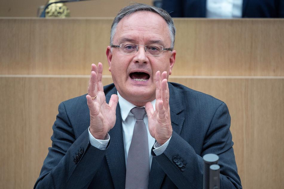 Andreas Stoch ist der Fraktionsvorsitzende der SPD im Landtag von Baden-Württemberg.
