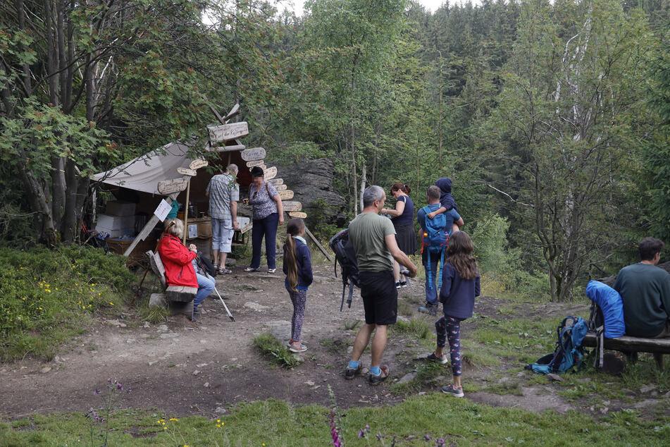 Ab dem Frühjahr können Wanderer wieder das Mini-Café besuchen.