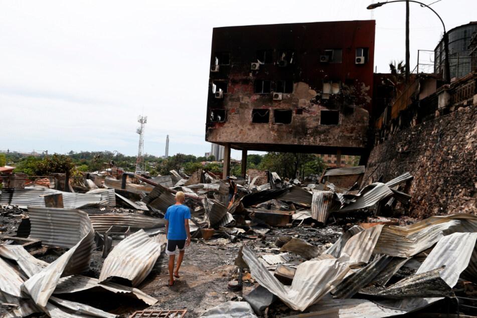 Feuer-Inferno an Weihnachten! Flammen zerstören Häuser von 96 Familien