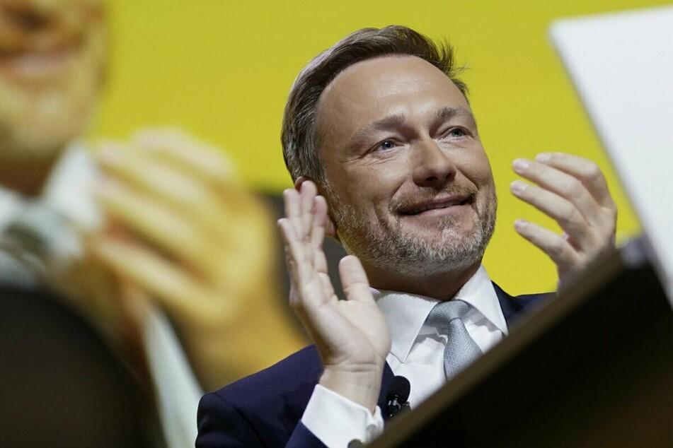Der FDP-Vorsitzende Christian Lindner (42).