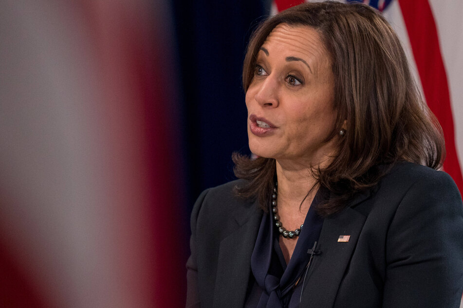 Armed man arrested outside official residence of Vice President Kamala Harris