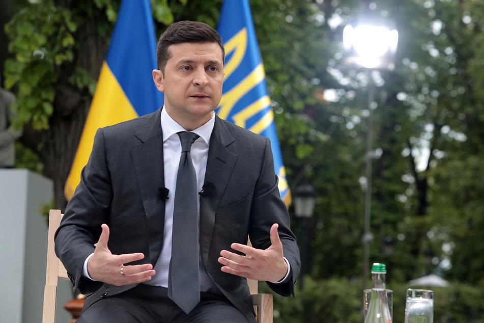 Wolodymyr Selenskyj, Präsident der Ukraine.