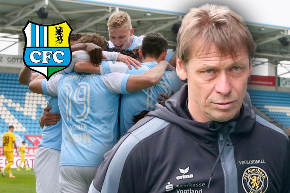 CFC freut sich auf Sachsenpokal-Halbfinale, VfB-Trainer beklagt fehlenden Mut