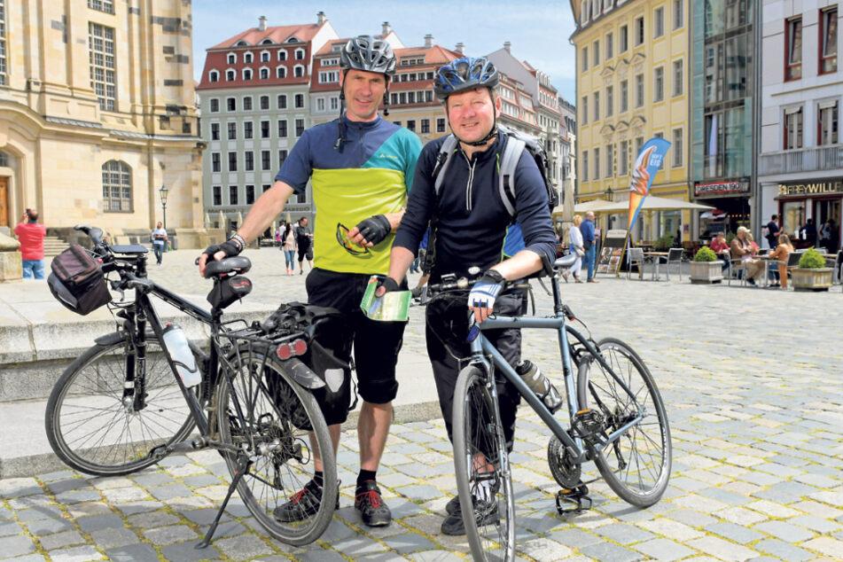 Axel (48) und Falk (49) aus Dresden.