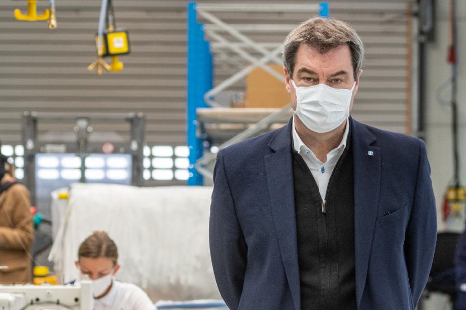 Söders Exit-Strategie: Einige Beschränkungen werden bleiben, Masken gehören zum Alltag