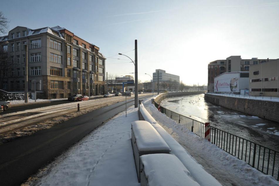 Der Hochwasserschutz an der Chemnitz wurde verbessert. Aber reicht er, wenn  Zwönitz und Würschnitz zeitgleich Hochwasser führen?
