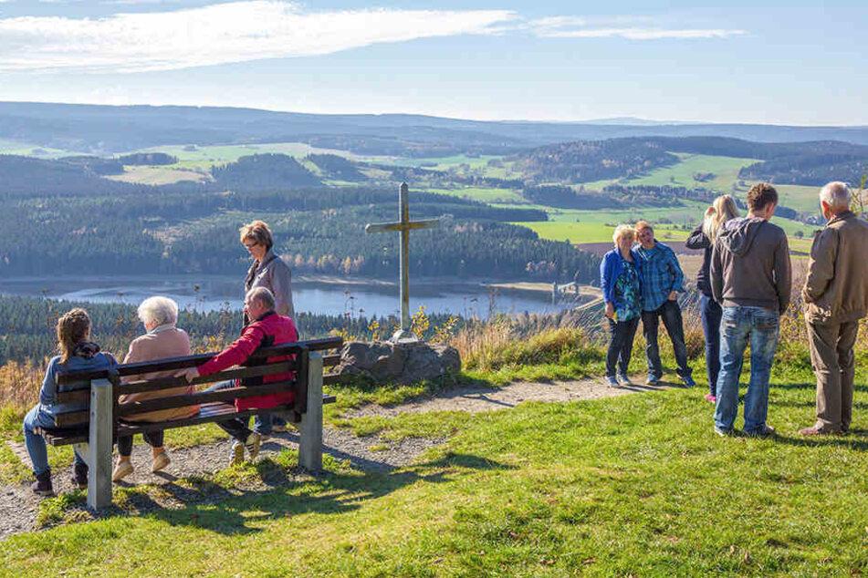 Das Erzgebirge zählt zu den beliebtesten sächsischen Tourismuszielen in Sachsen.