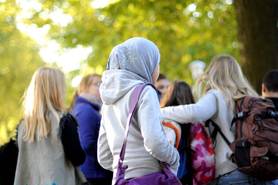 Kopftücher bei Mädchen: Für Palmer ein No-Go. (Symbolbild)