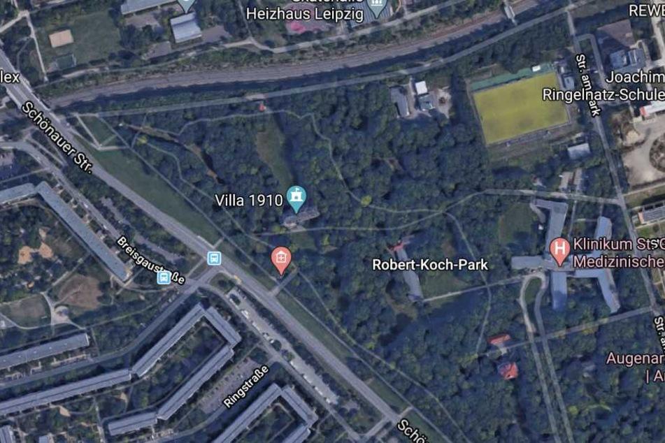 Im Robert-Koch-Park stehen mehrere denkmalgeschützte Villen.