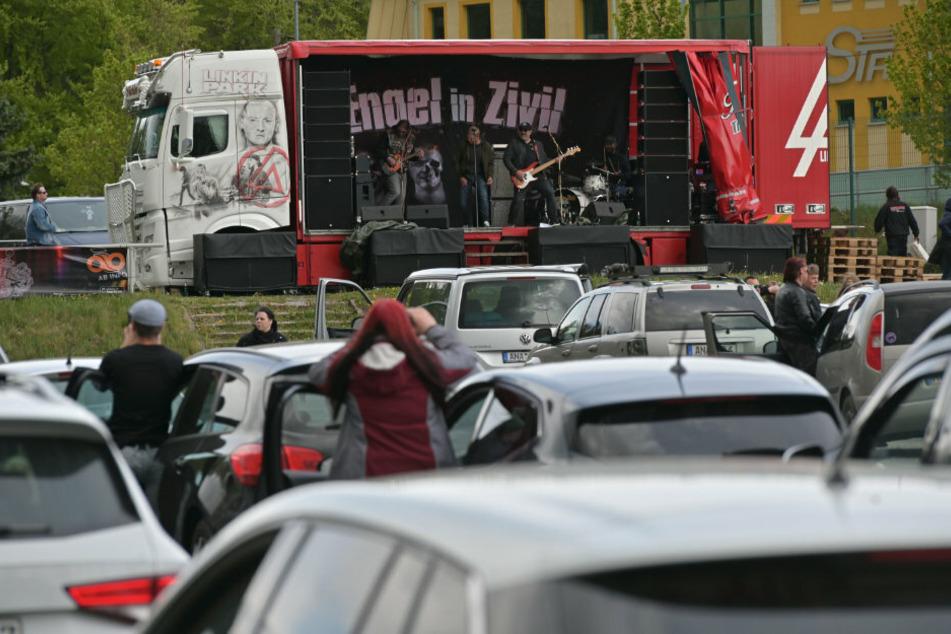 Auto-Konzert: Hier wird hinterm Lenkrad gerockt
