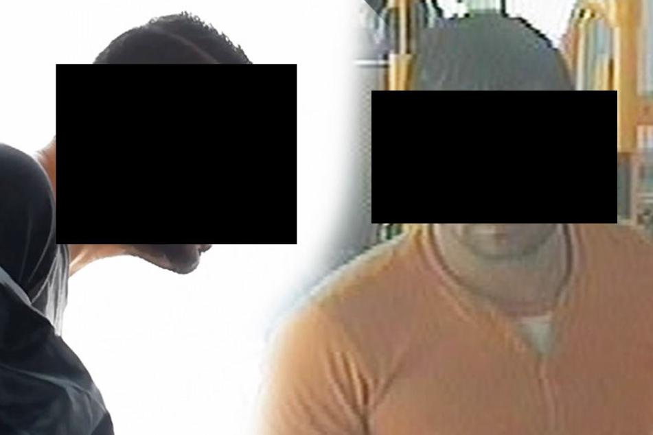 Mit diesen neuen Aufnahmen fahndete die Polizei nach einem Mann, der sich vor Kindern entblößte und sich vor Frauen befriedigte.