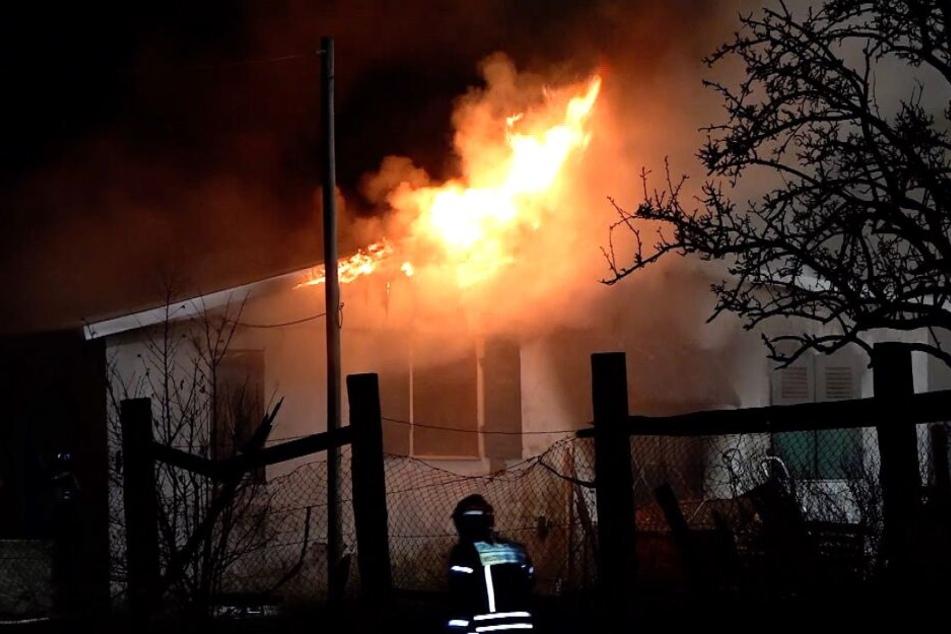 In Egeln kam es am Donnerstagabend zu einem Großeinsatz der Feuerwehr.