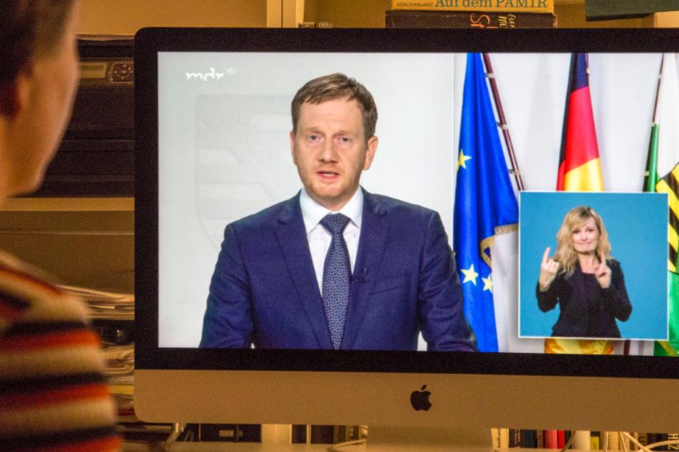 MP Kretschmer appelliert händeringend an die Sachsen