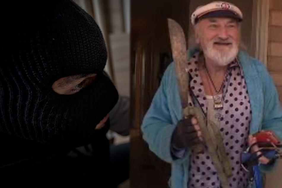 Richard Gorka (69) vertrieb die Einbrecher kurzerhand aus seinem Haus.