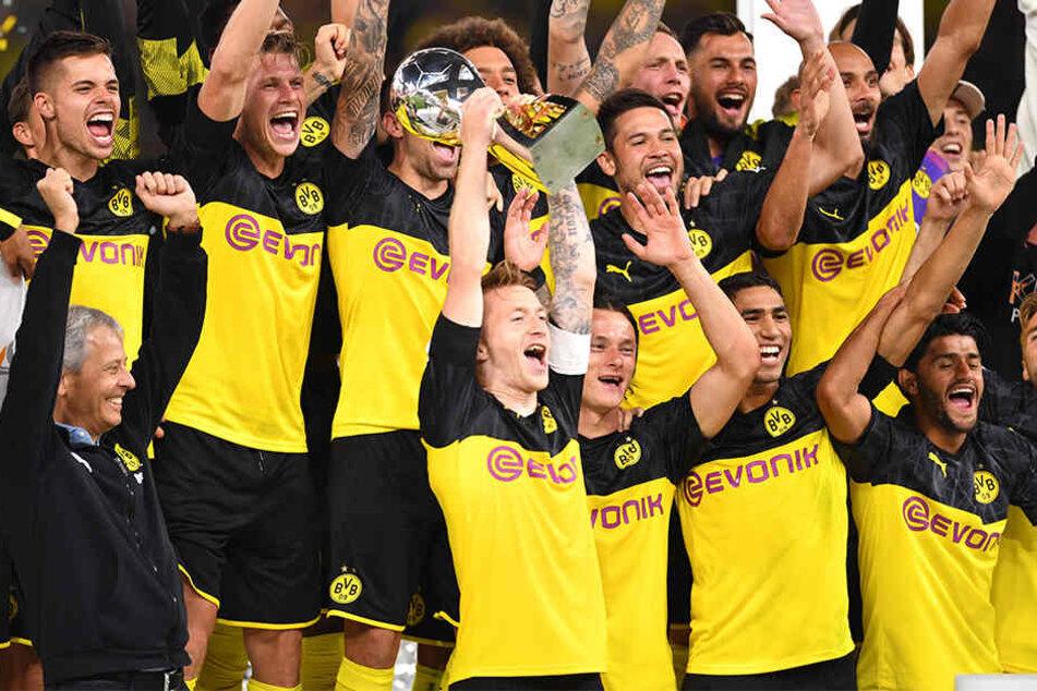 Supercup-Sieger Borussia Dortmund steht ganz oben auf der schwarz-gelben Wunschliste.