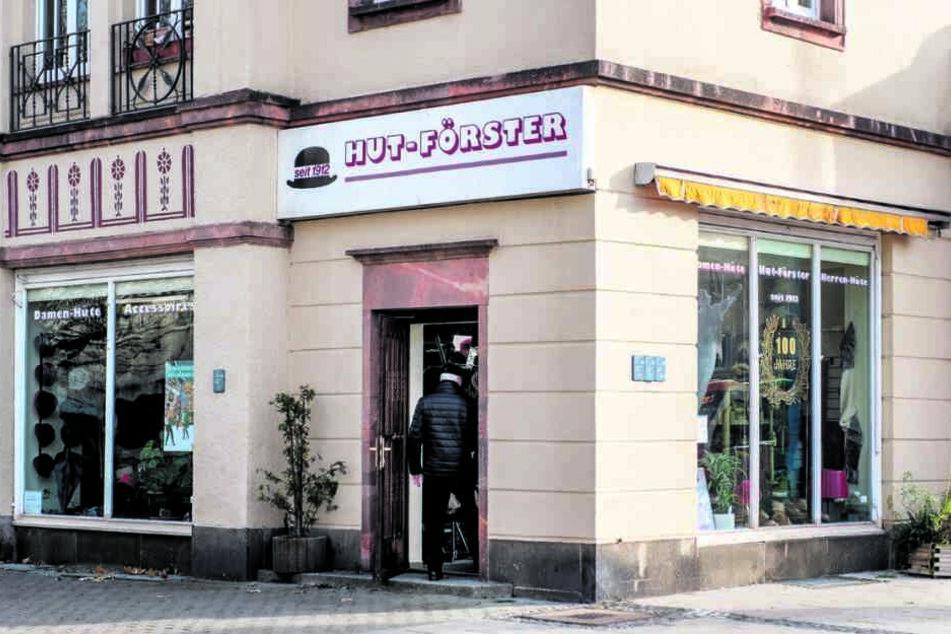 """Als """"Hut-Förster"""" bleibt das eingesessene Fachgeschäft an der Reitbahnstraße erhalten."""