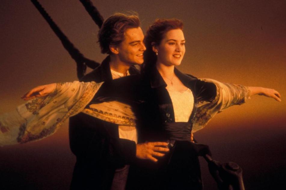 """Noch immer einer der erfolgreichsten Filme aller Zeiten: """"Titanic"""" mit Kate Winslet und Leonardo DiCaprio."""