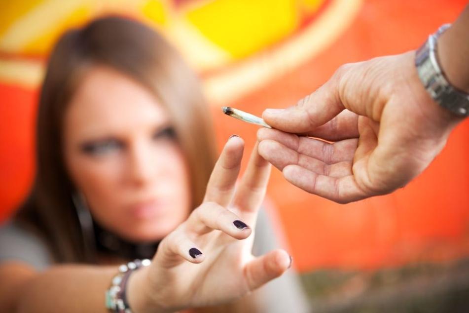Das Mädchen rauchte einen Joint und konnte sich dann an nichts mehr erinnern. (Symbolbild)