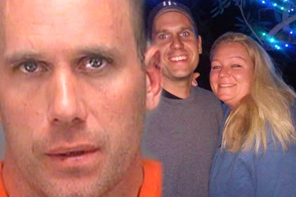 Peter Wagman unterstellte seiner Gattin Heather King (rechts) eine Affäre.