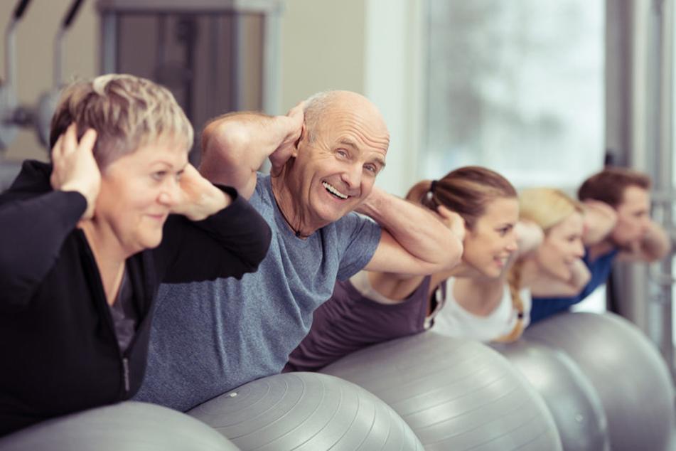 Viel Bewegung hält den Körper fit. Auch im höheren Alter.